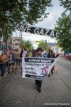 Protestors take the streets to protest violence in Gaza