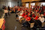 """Kshama Sawant asks """"How many of you have been on the picket line?"""""""